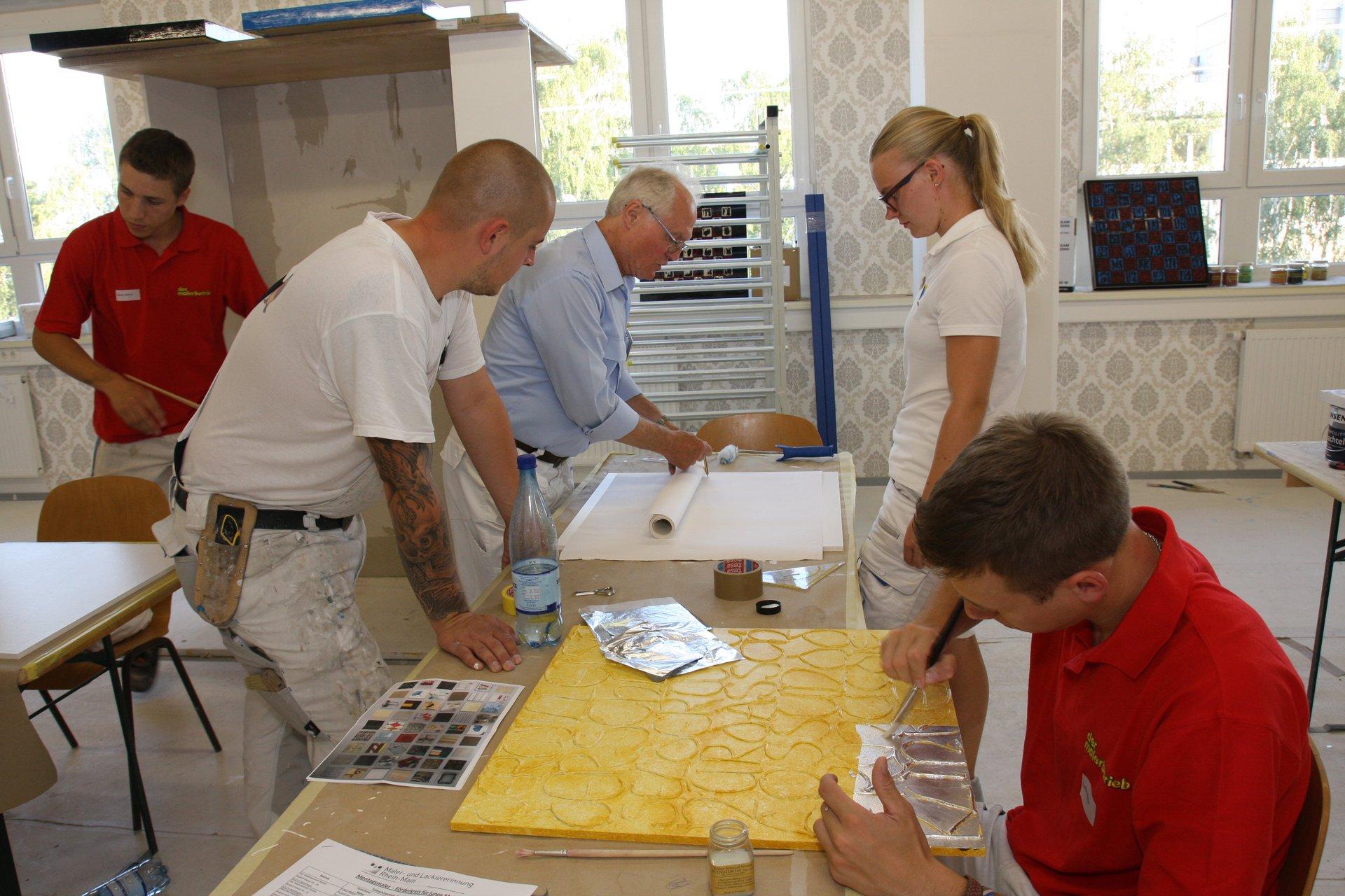 frankfurter handwerksstiftung f rdert junge maler und lackierer malerportal. Black Bedroom Furniture Sets. Home Design Ideas