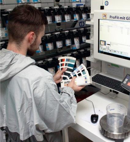 Ausbildung zum fahrzeuglackierer malerportal for Ausbildung zum innendekorateur